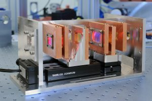 Innovatives optisches System zur on-line Adaption des Laserfokus. © Fraunhofer ILT, Aachen.
