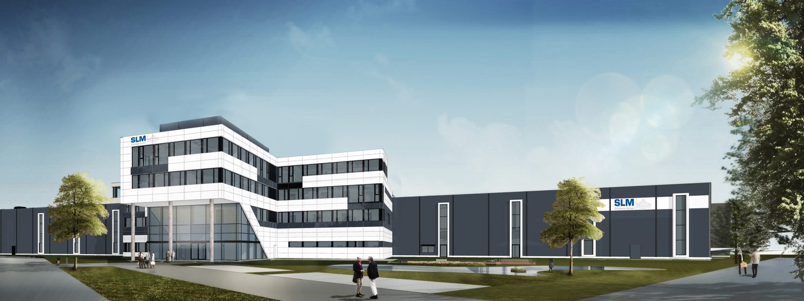 Future Headquarter der SLM Solutions Group AG. © SLM Solutions.